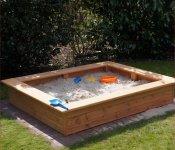 Sandkasten 180x150 cm