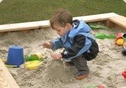Sandkasten rechteckig